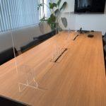 会議室アクリル板